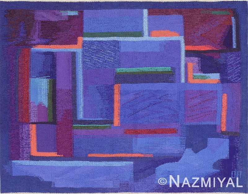 Vintage French Tapestry Rug by Eevahenna Aalto 47673 Nazmiyal