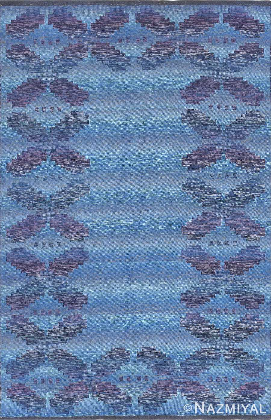 vintage scandinavian swedish rug 47678 Nazmiyal edited