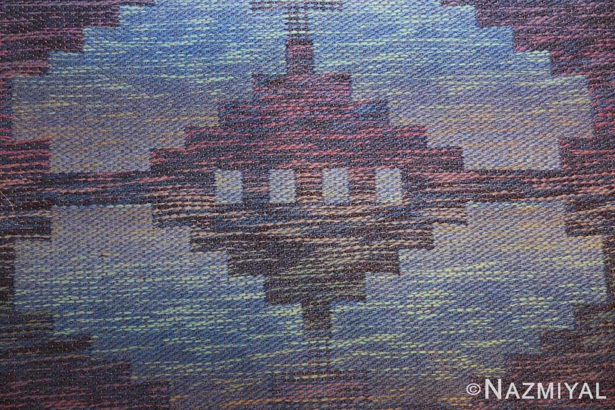 vintage scandinavian swedish rug 47678 texture Nazmiyal