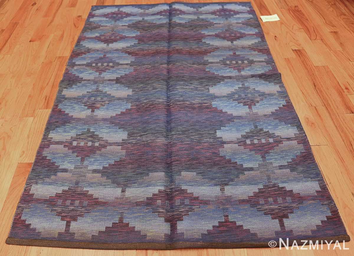 vintage scandinavian swedish rug 47678 whole Nazmiyal