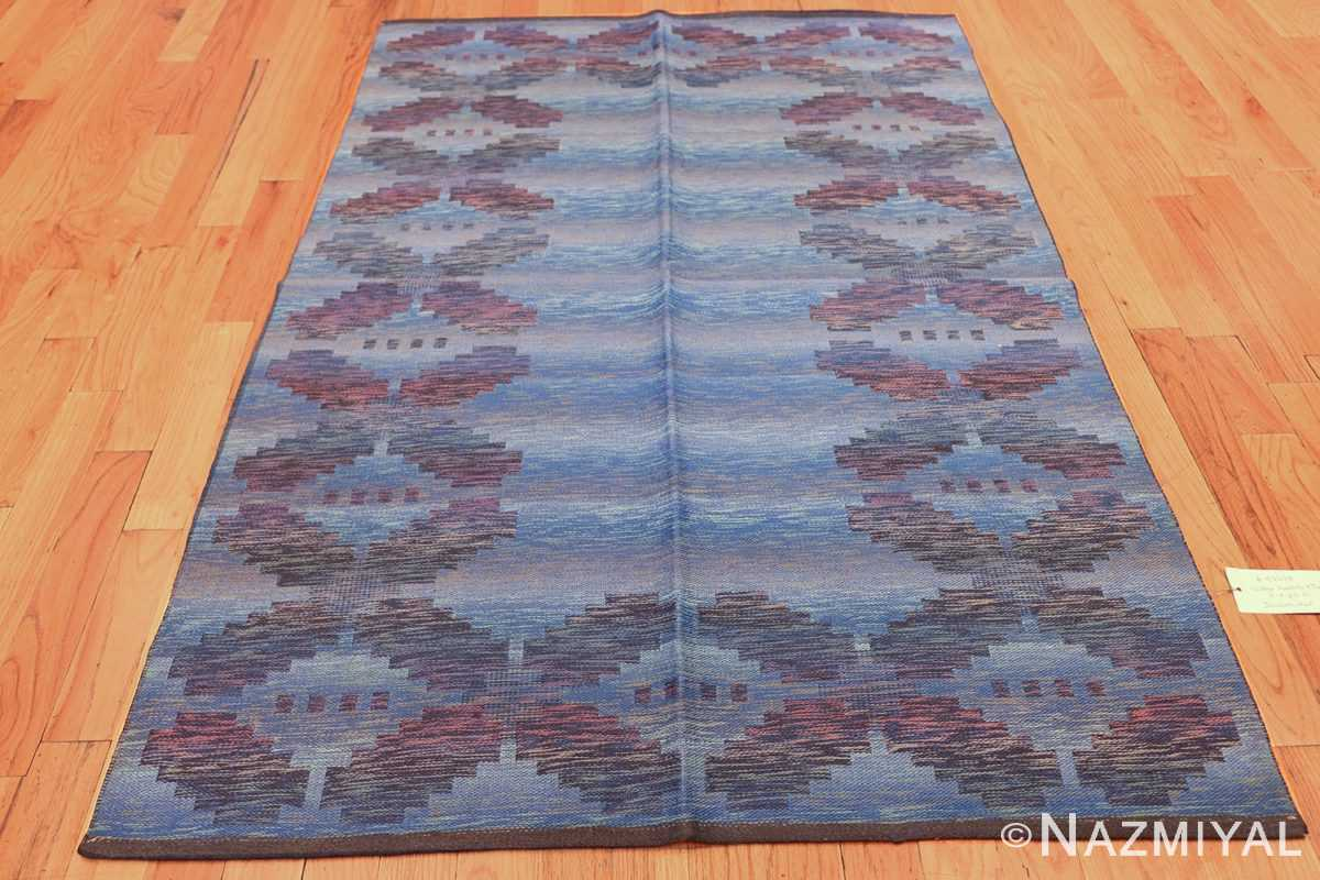 vintage scandinavian swedish rug 47678 whole light Nazmiyal
