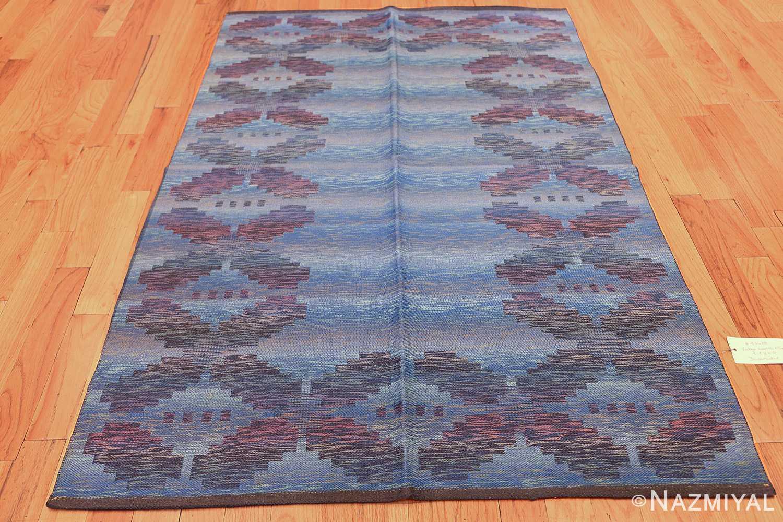 vintage scandinavian swedish rug 47678 whole light Nazmiyal