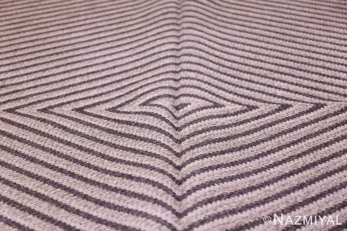 Vintage Scandinavian Swedish Rug 47681 Field Nazmiyal