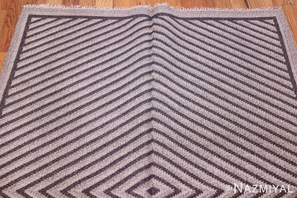 Vintage Scandinavian Swedish Rug 47681 Top Lines Nazmiyal