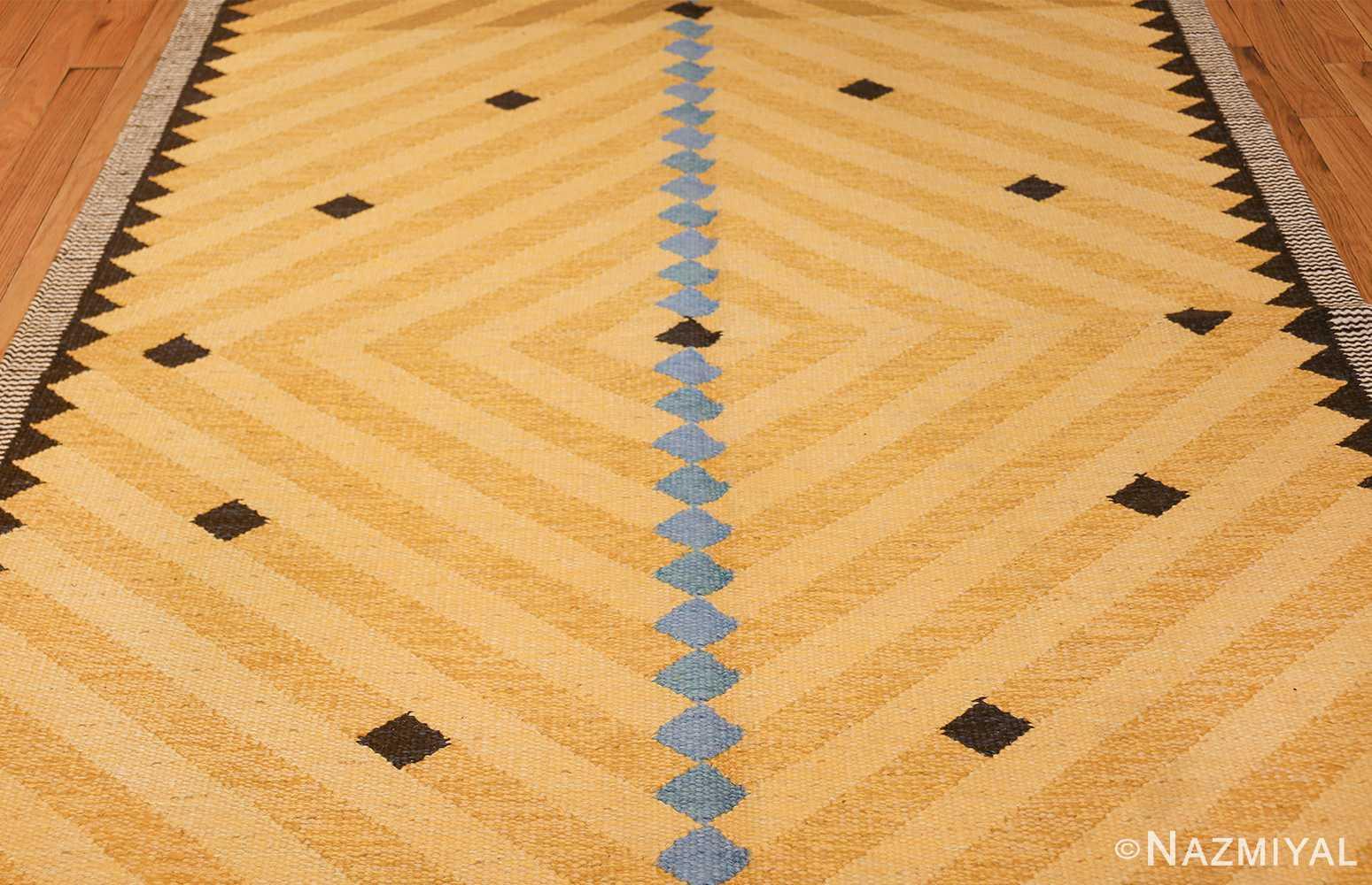 vintage swedish rug by ingrid dessau 47664 field Nazmiyal
