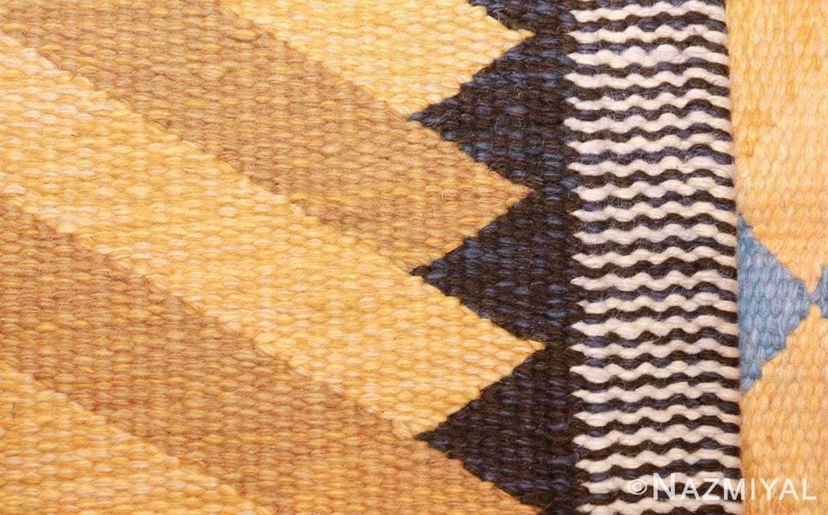vintage swedish rug by ingrid dessau 47664 knots Nazmiyal