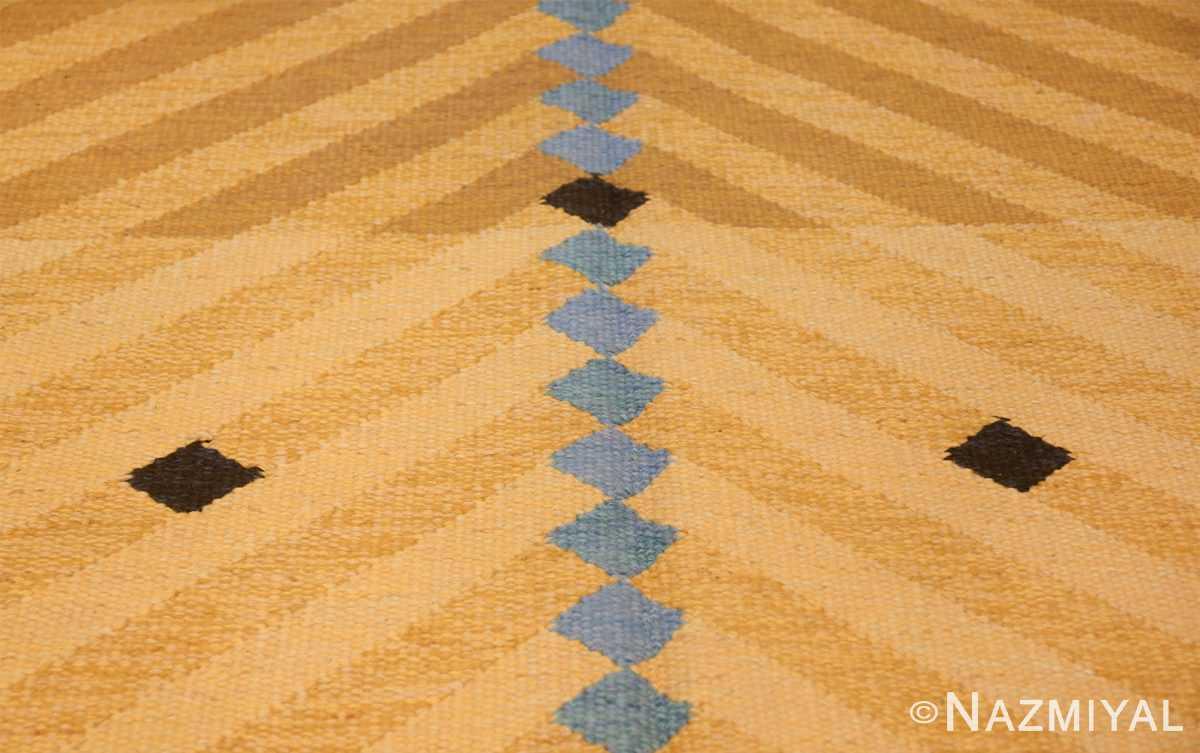 vintage swedish rug by ingrid dessau 47664 lines Nazmiyal