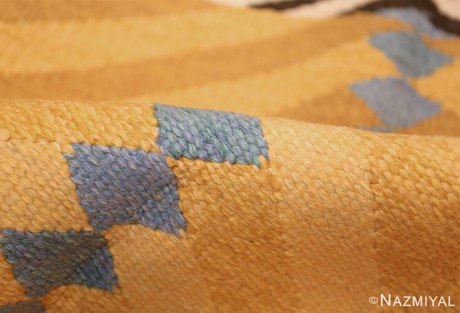 vintage swedish rug by ingrid dessau 47664 pile Nazmiyal