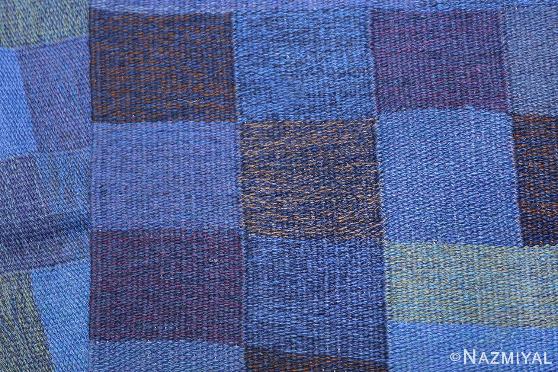 Vintage Swedish Rug by Karin Jonsson 47666 Knots Back Nazmiyal