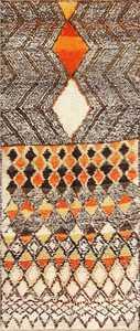 Tribal Vintage Berber Shag Moroccan Rug 47929 Nazmiyal