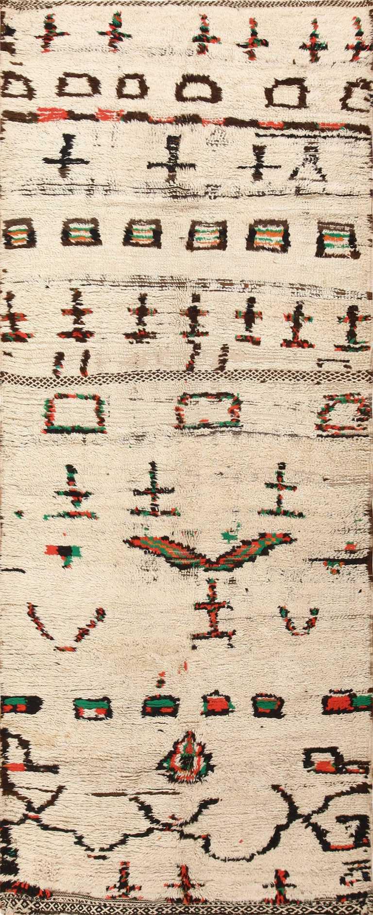 Vintage Moroccan Rug 47592 Detail/Large View