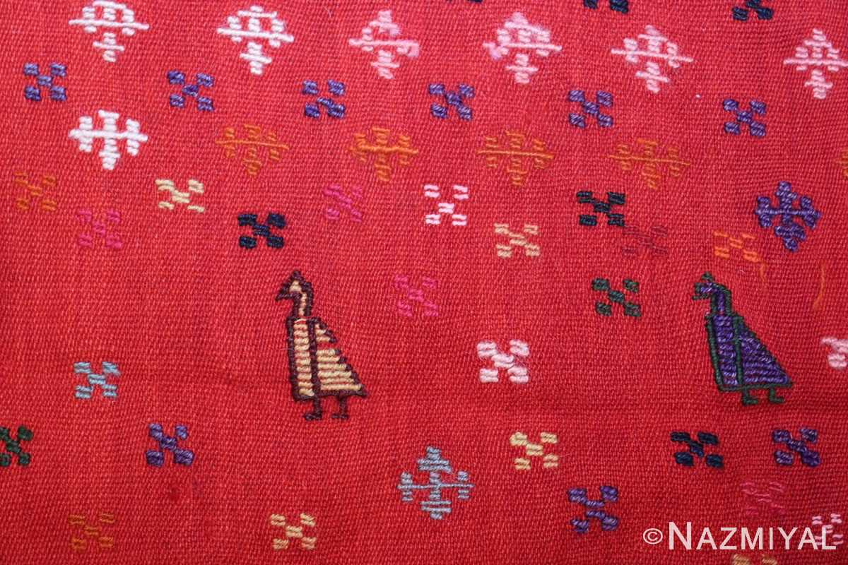 antique persian qashqai horse cover 47878 bird Nazmiyal