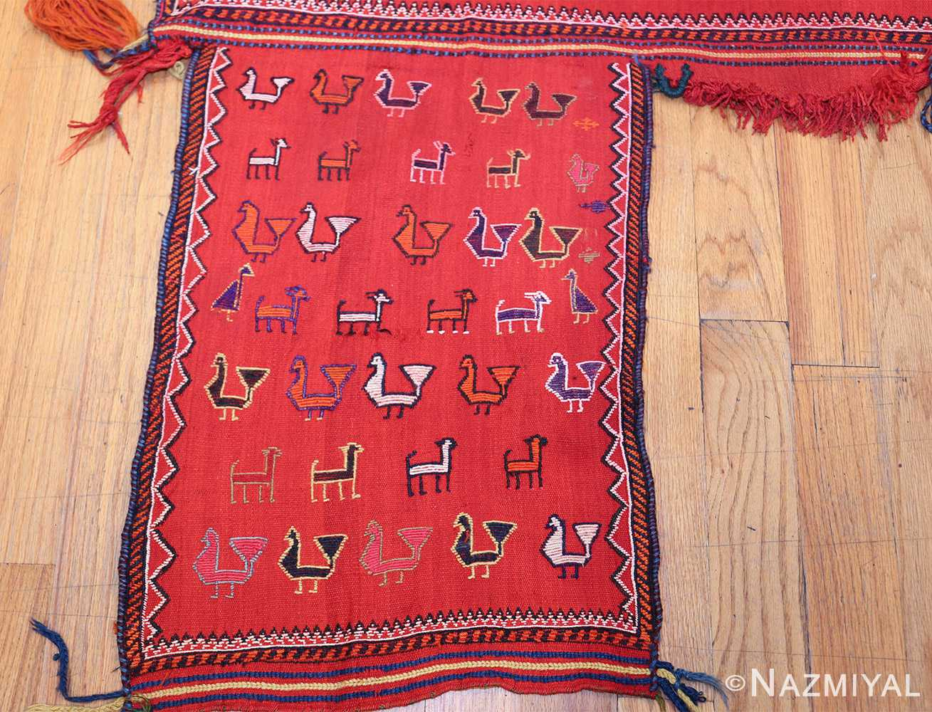 antique persian qashqai horse cover 47878 left side Nazmiyal