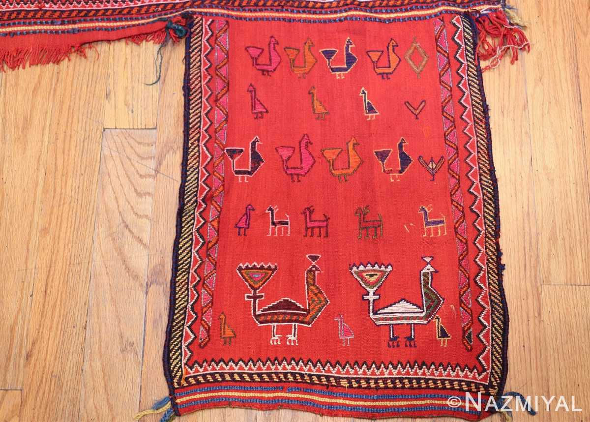 antique persian qashqai horse cover 47878 right side Nazmiyal