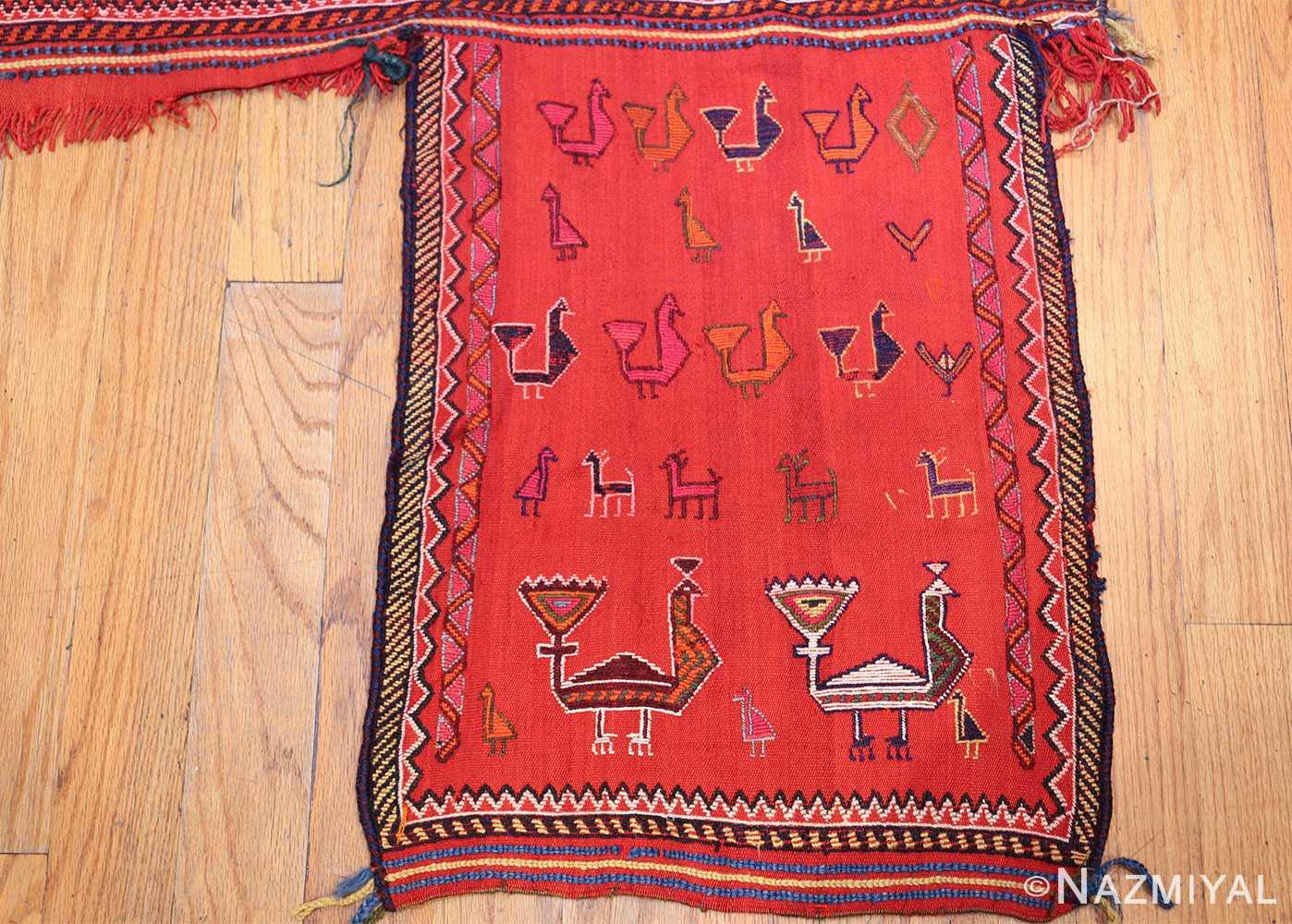 antique persian qashqai horse cover 47878 right side Nazmiyal
