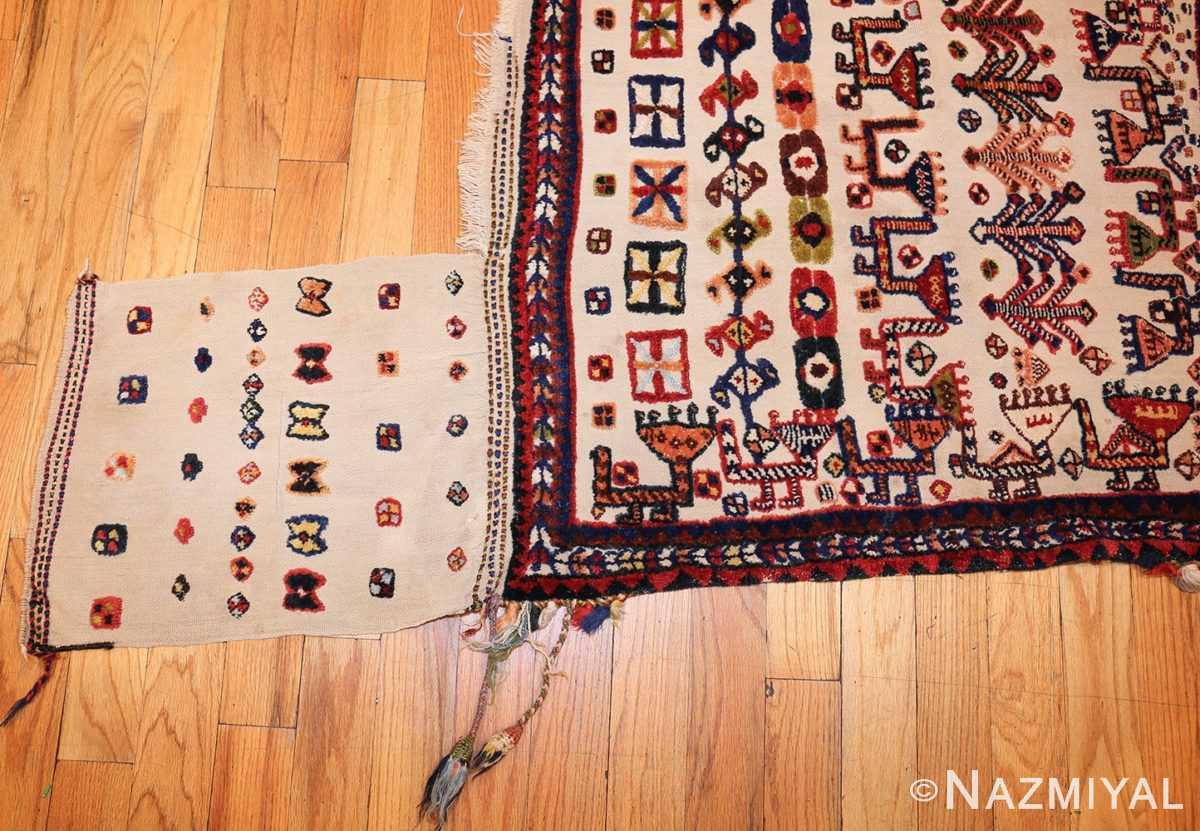antique persian qashqai horse cover 47882 side Nazmiyal