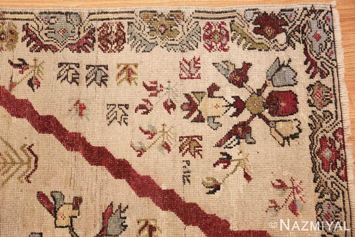 antique turkish kirshehir prayer rug 47476 corner Nazmiyal