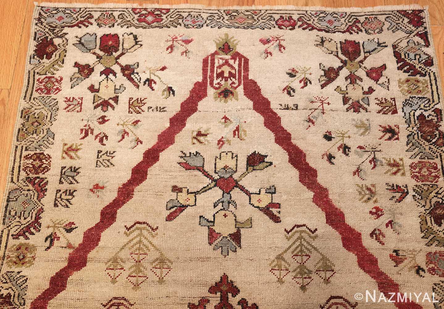 antique turkish kirshehir prayer rug 47476 top Nazmiyal