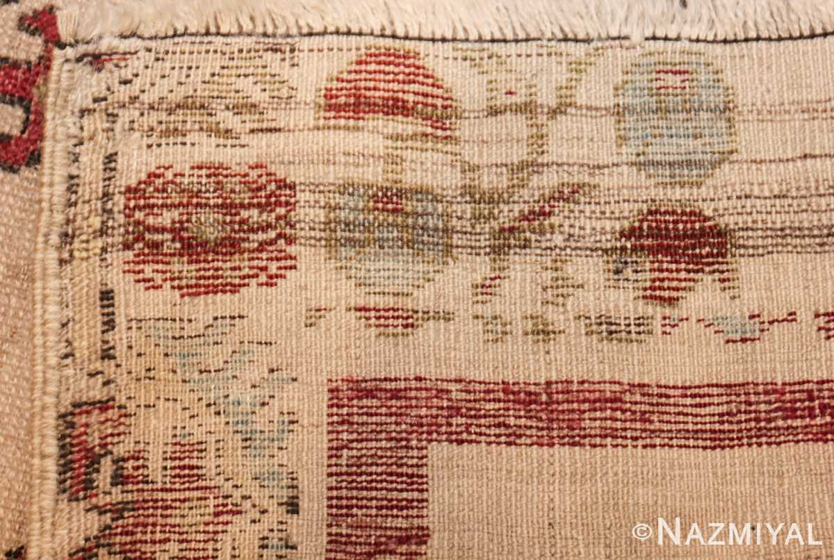 antique turkish kirshehir prayer rug 47476 weave Nazmiyal
