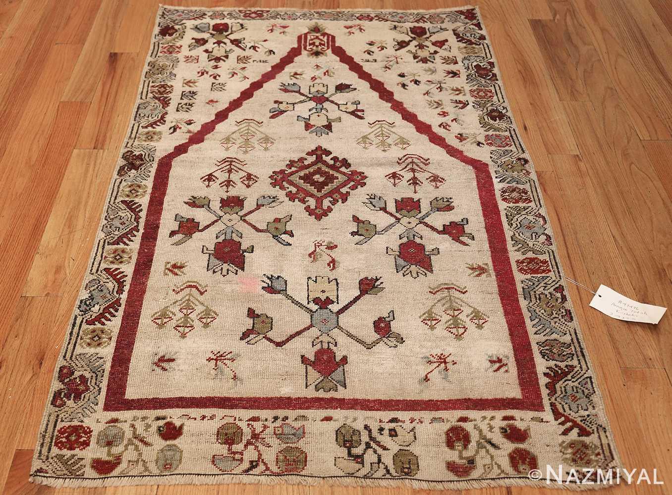 antique turkish kirshehir prayer rug 47476 whole Nazmiyal