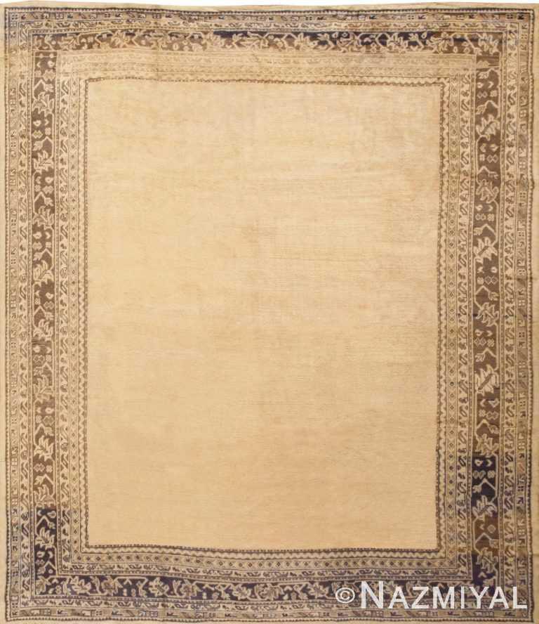 Antique Turkish Oushak Rug 47008 Detail/Large View