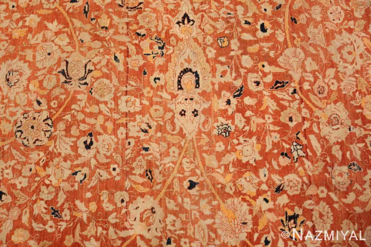 Background Antique Persian Tabriz rug 47574 by Nazmiyal
