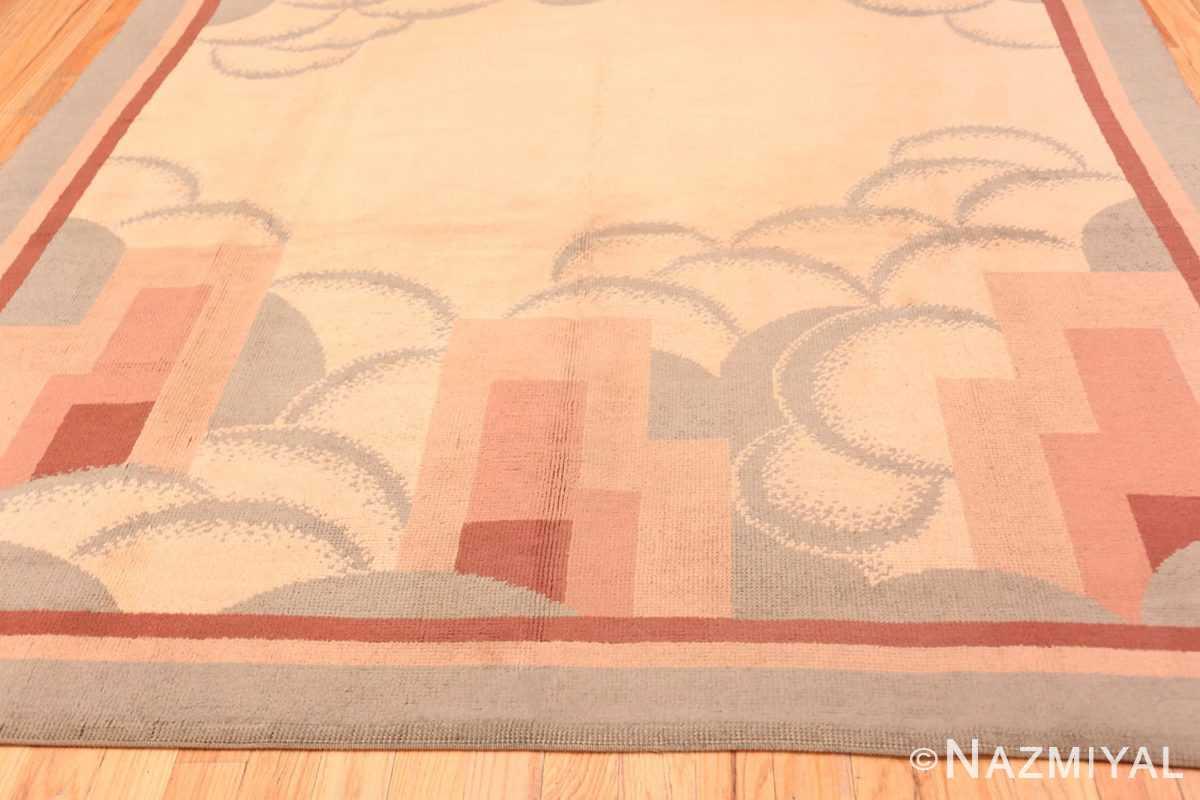 Border Vintage French deco rug 47638 by Nazmiyal