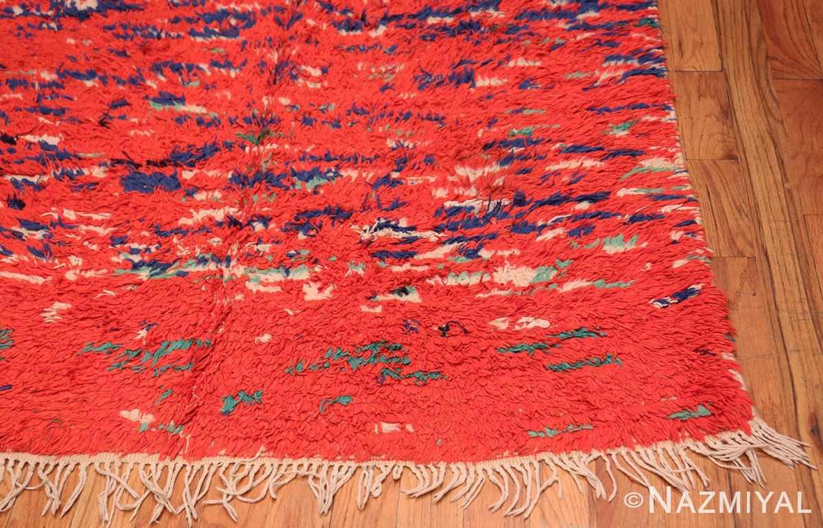 Corner Vintage Moroccan Berber rug 47949 by Nazmiyal