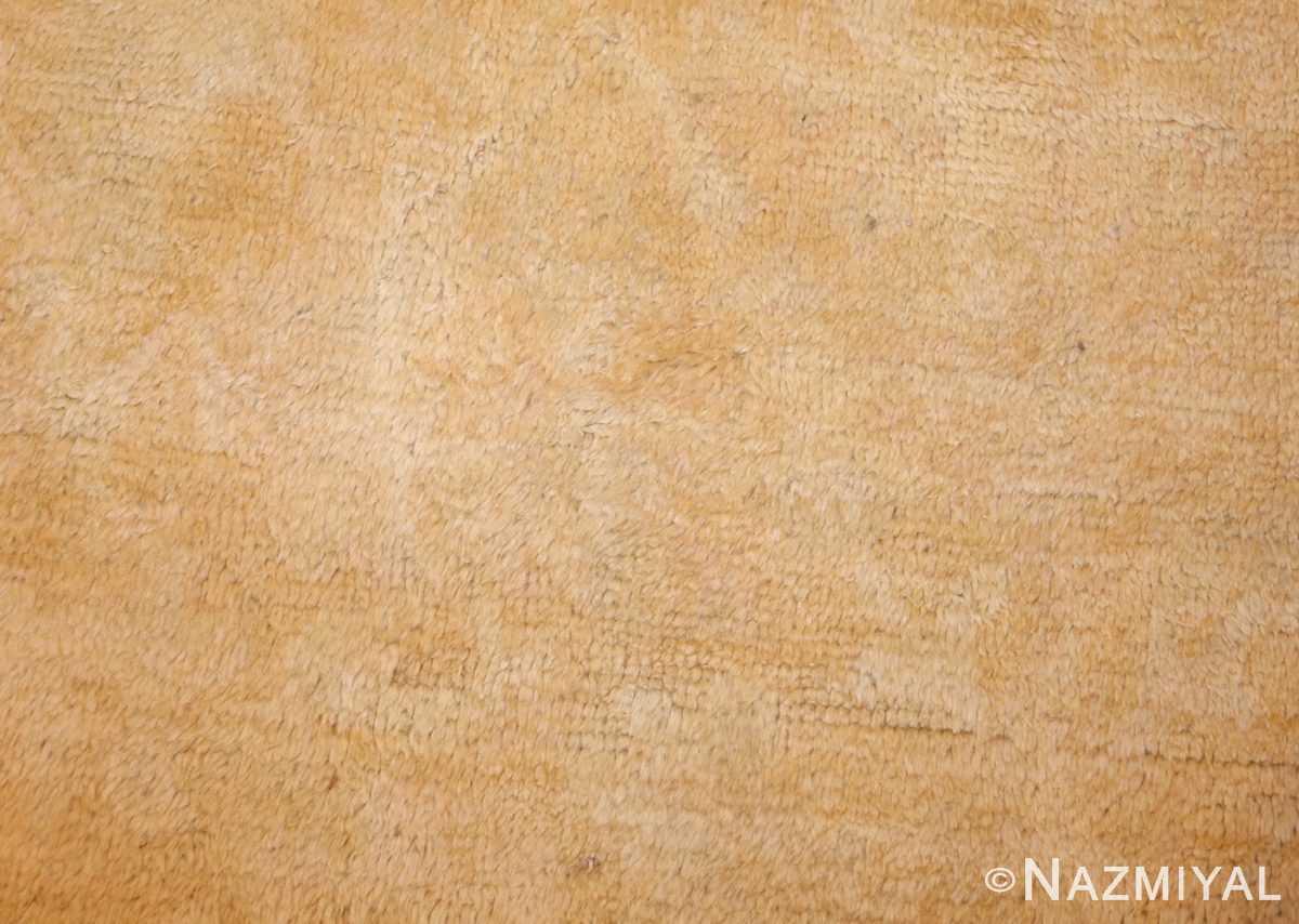 decorative antique oushak rug 47628 design Nazmiyal