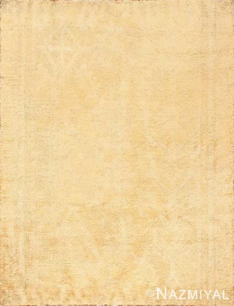 Decorative Antique Oushak Rug 47628 Detail/Large View