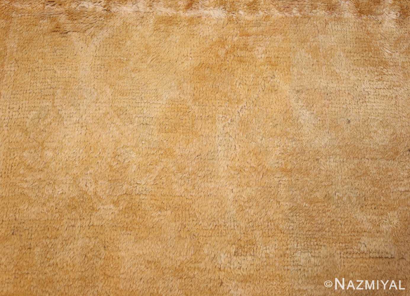 decorative antique oushak rug 47628 field Nazmiyal