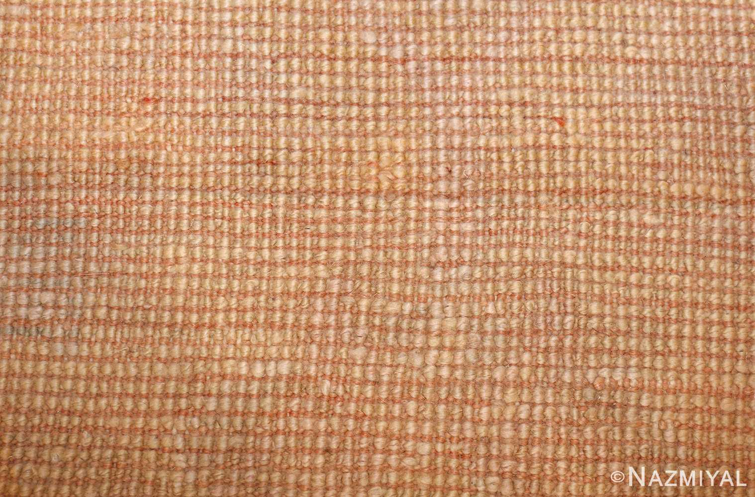 decorative antique oushak rug 47628 weave Nazmiyal