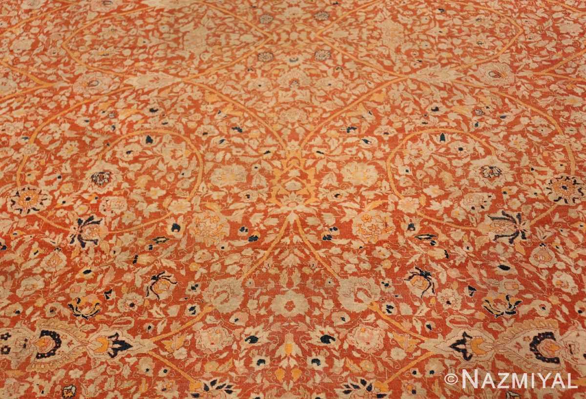 Field Antique Persian Tabriz rug 47574 by Nazmiyal