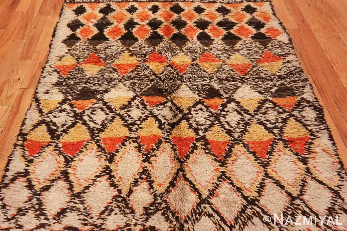 Field Tribal Vintage Berber Shag Moroccan rug 47929 by Nazmiyal