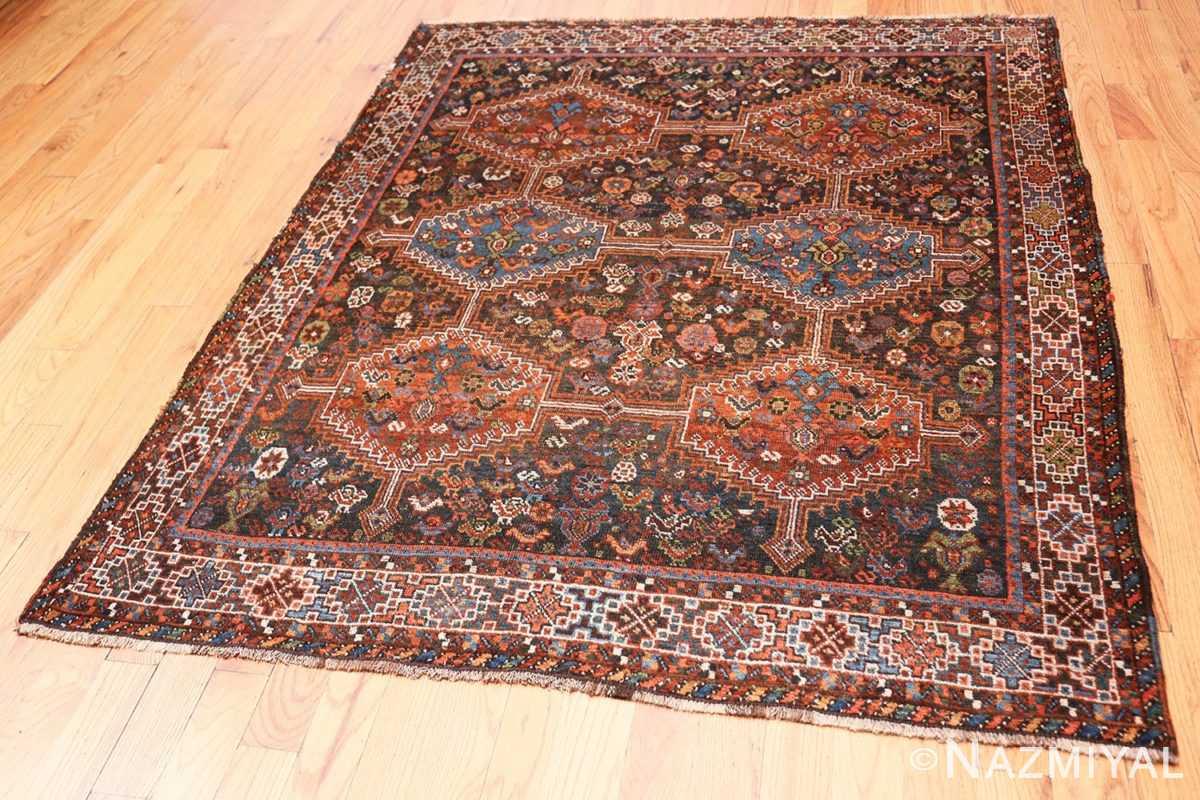 Full Antique Tribal Afshar Persian rug 47579 by Nazmiyal