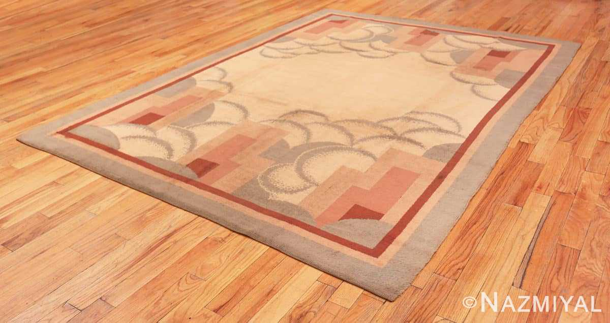 Full Vintage French deco rug 47638 by Nazmiyal