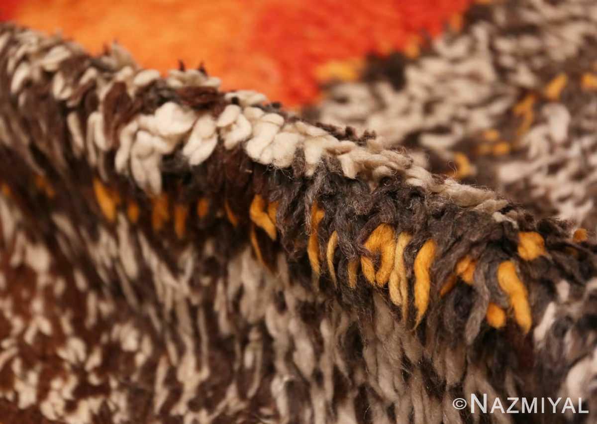 Pile Tribal Vintage Berber Shag Moroccan rug 47929 by Nazmiyal