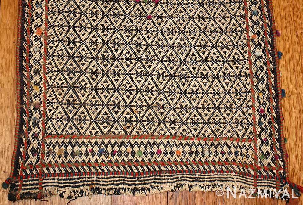rare antique persian qashqai horse cover 47879 borders Nazmiyal
