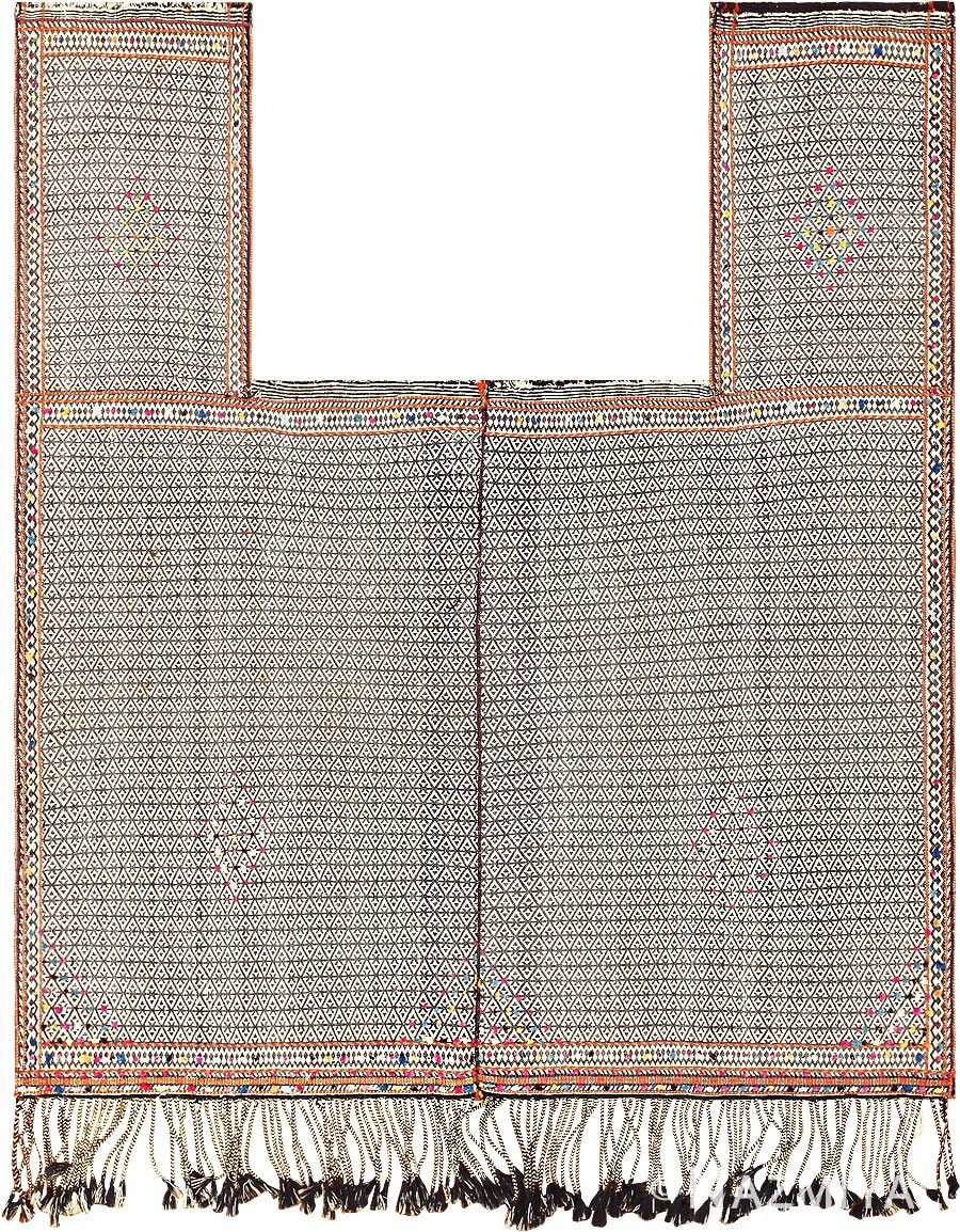 Rare Antique Tribal Persian Qashqai Horse Cover 47879 Nazmiyal
