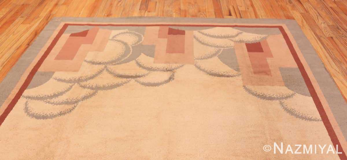 Top Vintage French deco rug 47638 by Nazmiyal