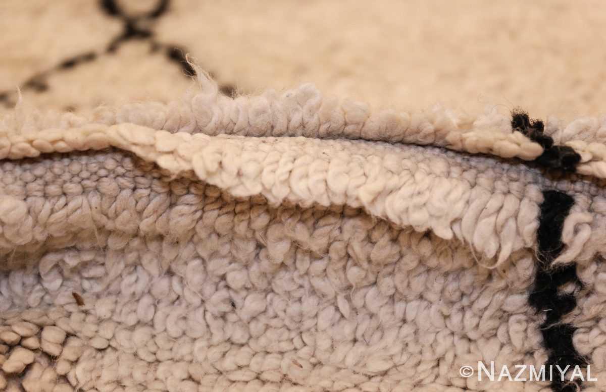 vintage moroccan carpet 47928 pile Nazmiyal
