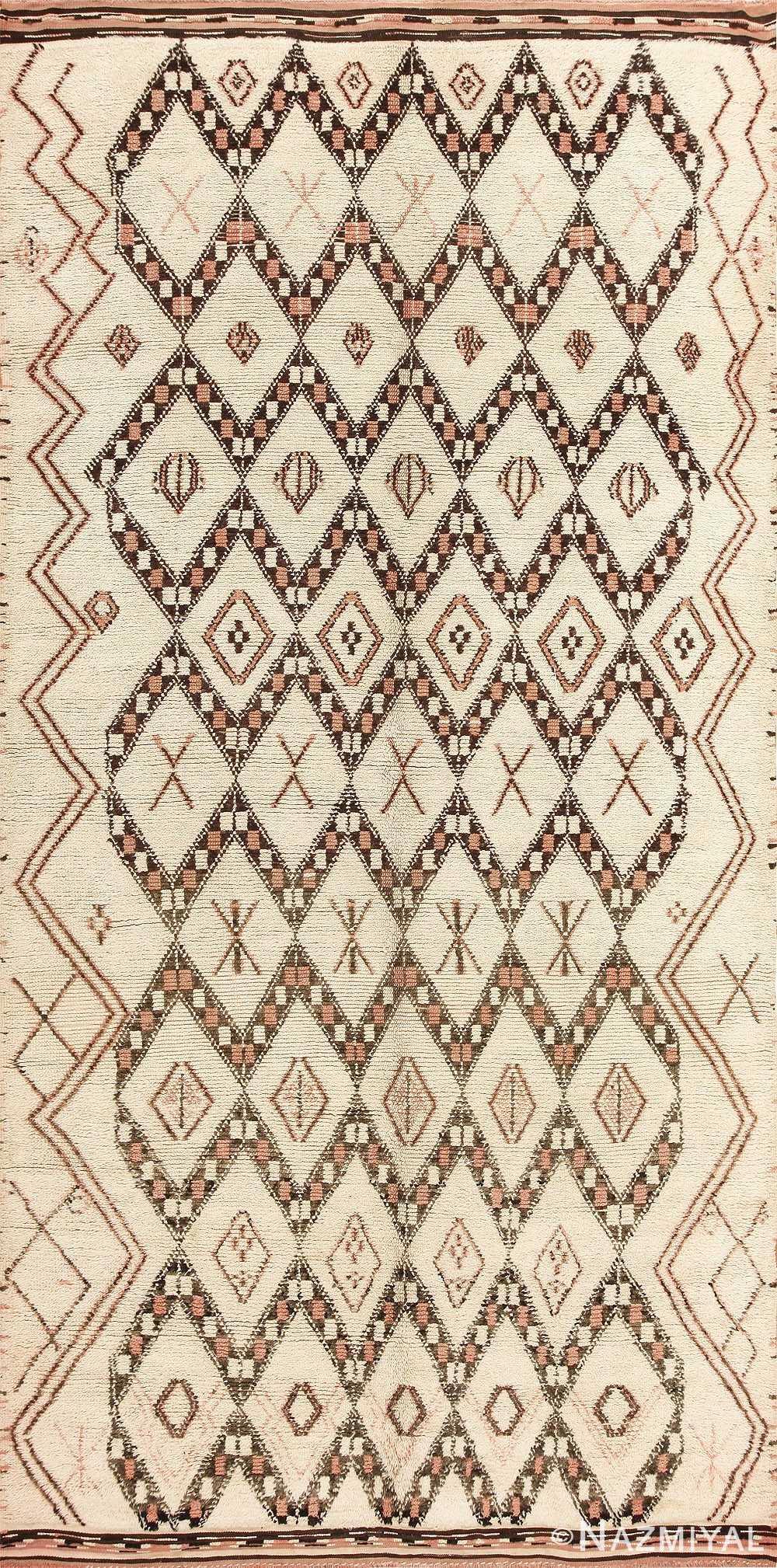 Vintage Moroccan Rug 47898 Large Image