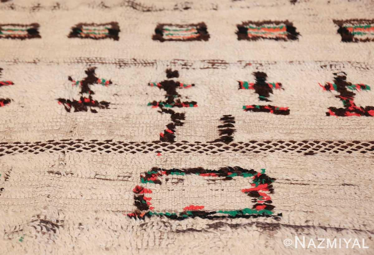 vintage moroccan rug 47952 square Nazmiyal