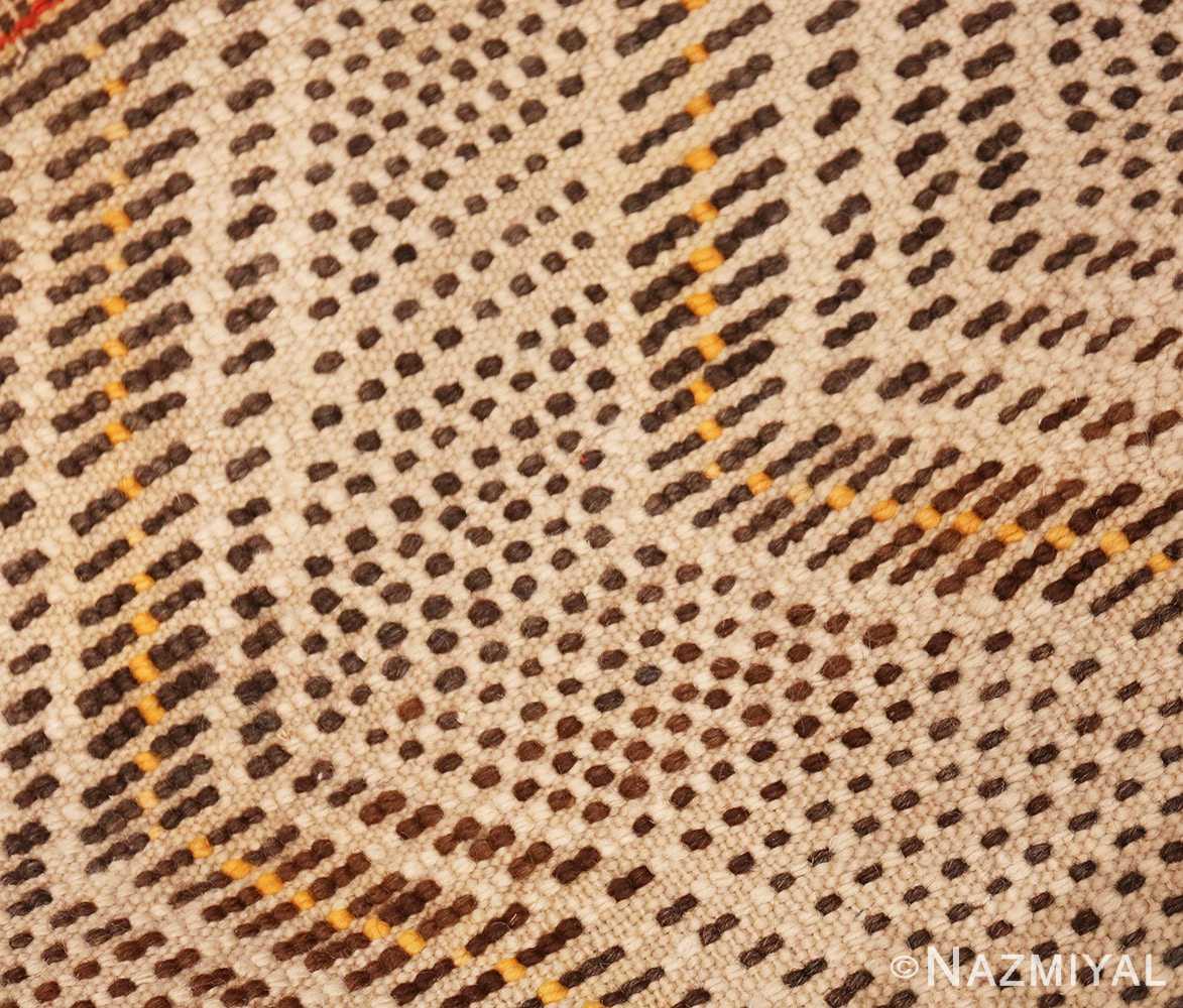 Weave Tribal Vintage Berber Shag Moroccan rug 47929 by Nazmiyal
