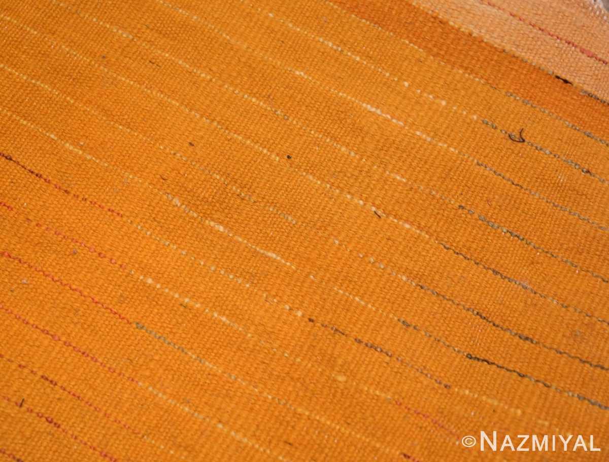 Weave detail Vintage Moroccan Shag rug 47912 by Nazmiyal