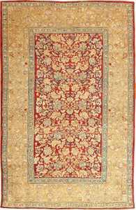 Antique Agra Oriental Carpets 42109 Nazmiyal