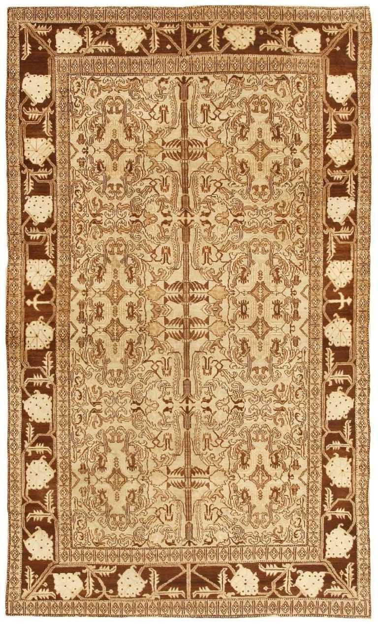 Antique Agra Oriental Rug 3130 Detail/Large View