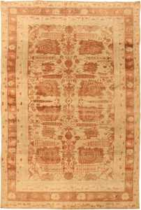 Antique Agra Oriental Rugs 42848 Detail/Large View