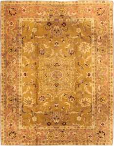Antique Amritsar Rug 1227 Detail/Large View