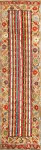 Antique Tribal Turkish Kirshehir Runner Rug 47486 Nazmiyal